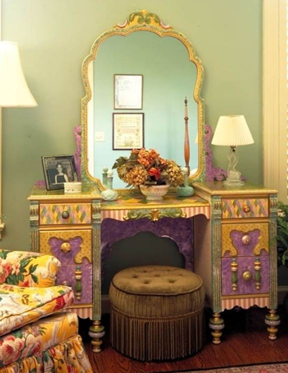 Painted furniture inspiration on pinterest painted for Hand painted furniture